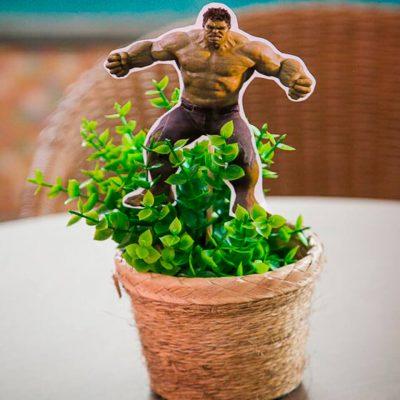 Heróis - Vaso com flor