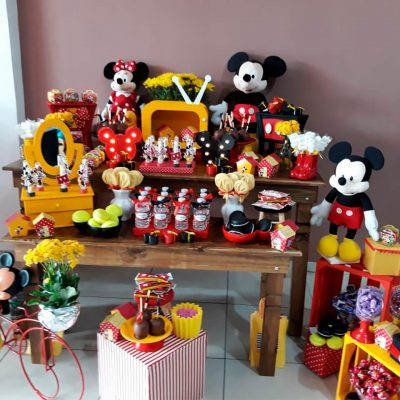 Mickey e Minnie - Melissa e Gustavo