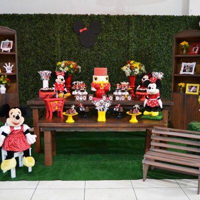 Minnie Vermelha - Ana Luiza